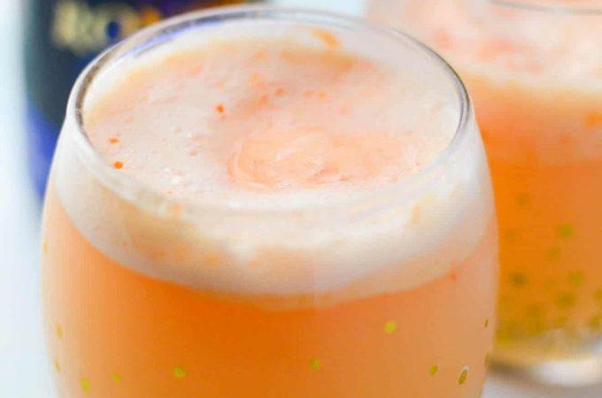 Orange Sherbet Mimosas