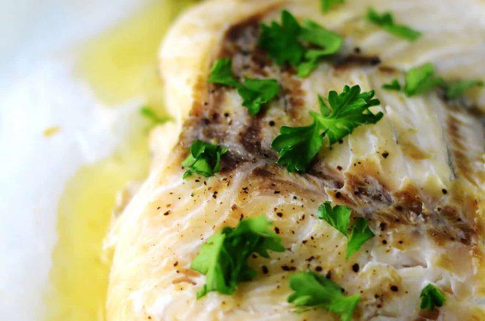 Fish en Papillote {Parchment Paper} with Asparagus Recipe